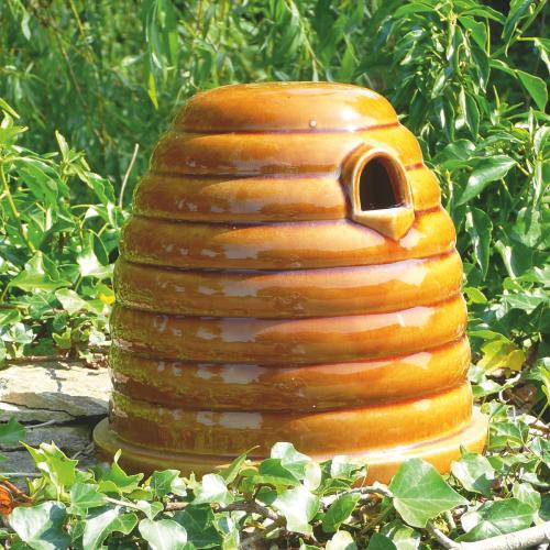 Hummelhaus aus Keramik.