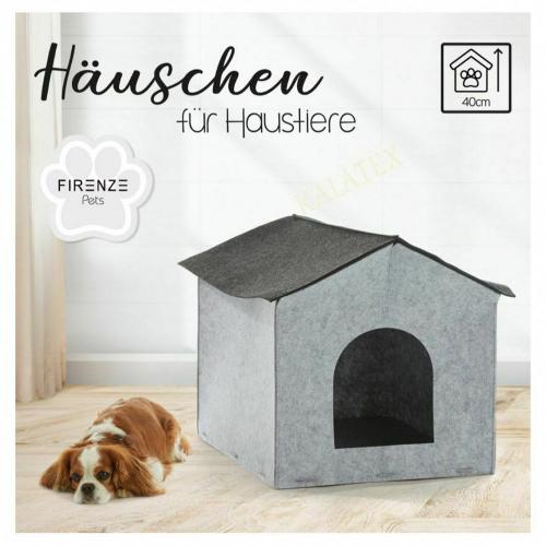 Hunde- und Katzenhaus Filz.