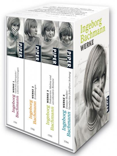 Ingeborg Bachmann. Werke. 4 Bände im Schuber.