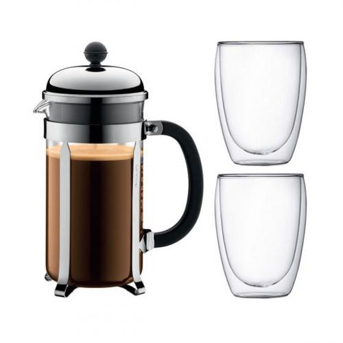 Kaffeebereiter-Geschenkset.