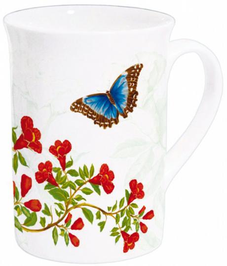 Kaffeebecher Maria Sybilla Merian »Himmelsfalter«.