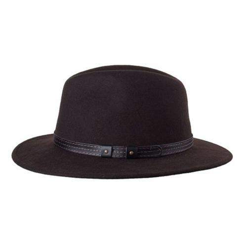 Klassischer Herren-Outdoor-Hut braun - Größe 59 L