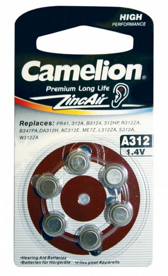 Knopfzellen Premium Long Life A312.