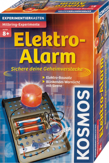 Kosmos Experimentierkasten Elektro-Alarm - Sichere deine Geheimverstecke