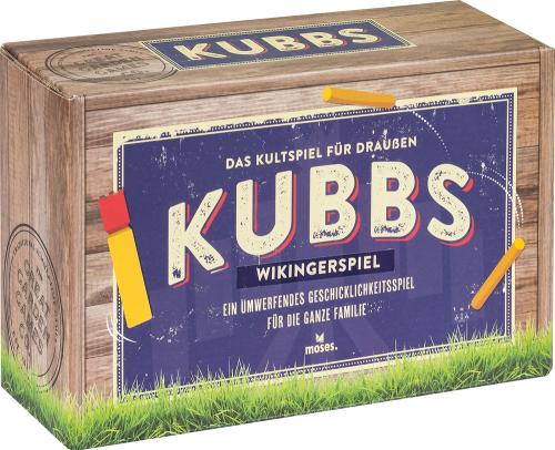Kubbs. Wikingerschach. Das Kultspiel für draußen.