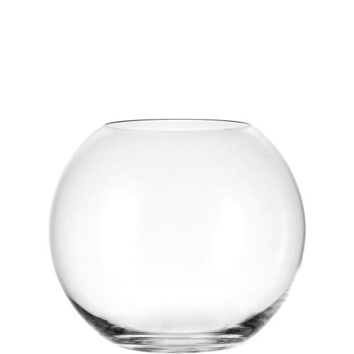 Kugelvase aus Glas.