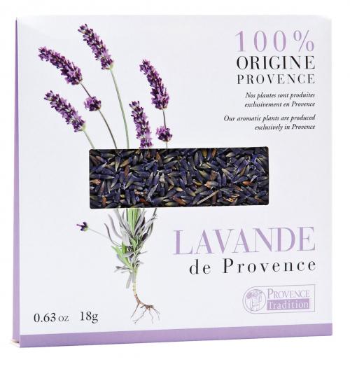 »Lavande De Provence«. Lavendel aus der Provence.