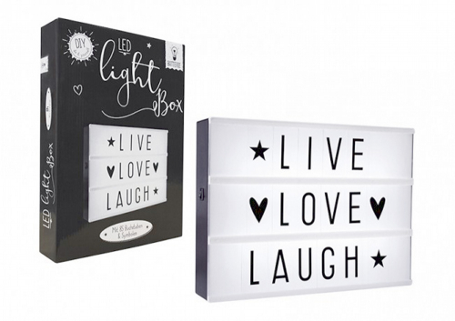 LED Lightbox A4 Lang