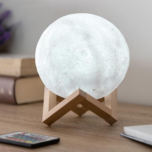 LED-Mondlampe.