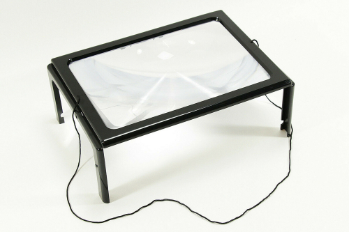 Leselupe zum Umhängen LED.