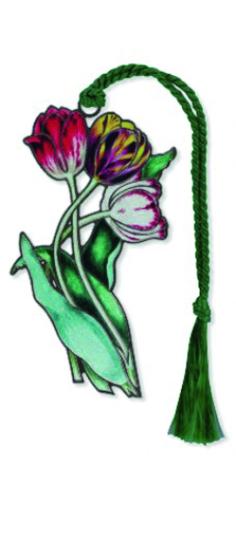 Lesezeichen »Tulpen«.