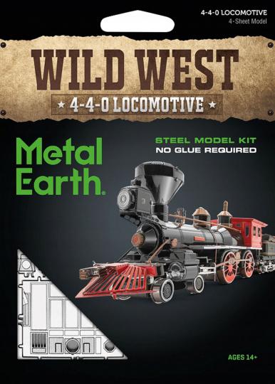 Lokomotive »Wild West 4-4-0«.