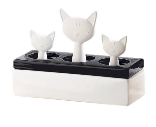 Luftbefeuchter Katzenfamilie.