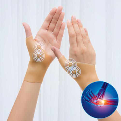 Magnet-Punkt-Kompressions-Armbänder, 2er Pack.