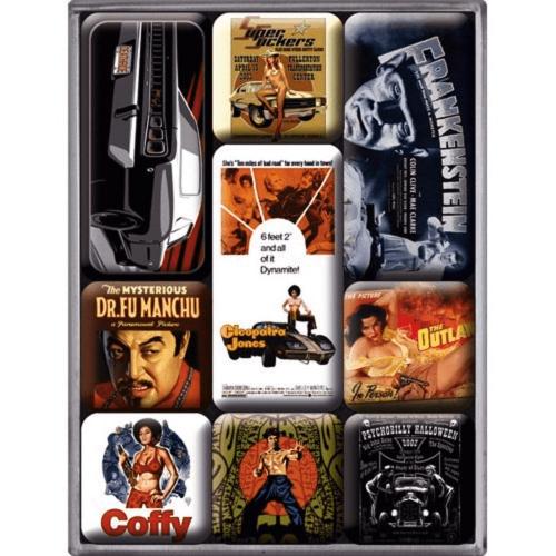 Magnet-Set Filmkunst.