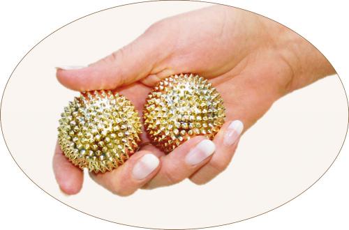 Magnet- Akupunktur Kugeln 2 Stück