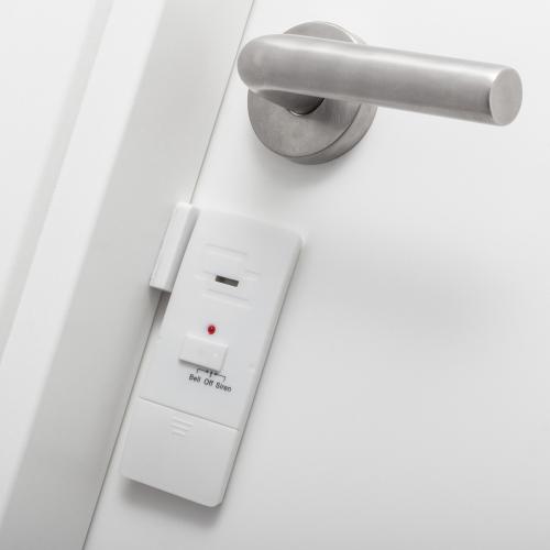 Magnet-Alarm für Türen und Fenster.