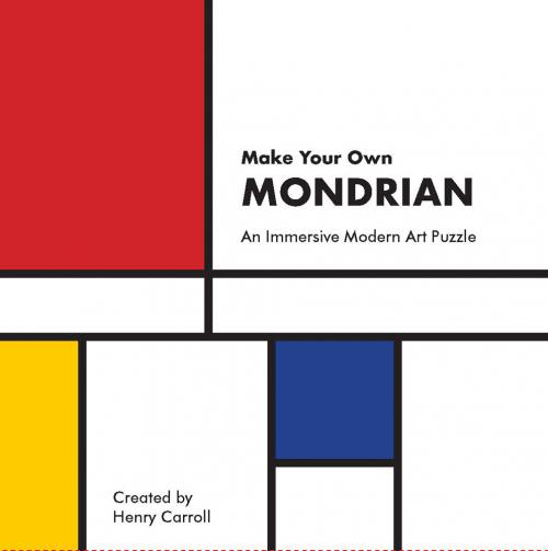 Make Your Own Mondrian. An Immersive Modern Art Puzzle.