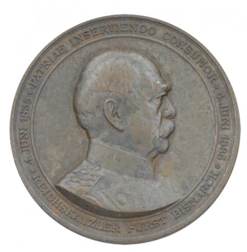 Medaille Bronze Otto von Bismarck