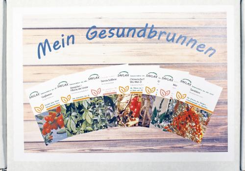 7 Samensorten »Mein Gesundbrunnen«.