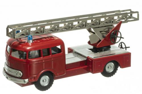 Modell-Mercedes Benz MB 335 »Feuerwehr mit Drehleiter«.