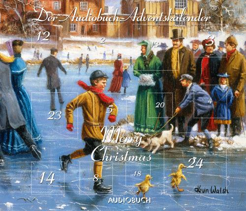 Merry Christmas. Der Audiobuch-Adventskalender. mp3-CD.