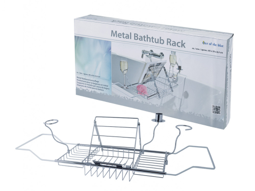 Badewannenauflage aus Metall.