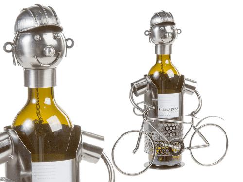 Metall-Flaschenhalter Fahrradfahrer