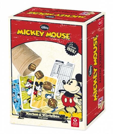 Würfel- & Kartenbox »Micky Maus«.