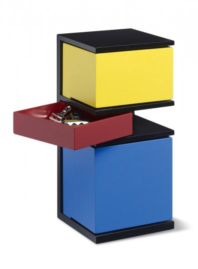 Mini-Container »De Stijl« nach Piet Mondrian.