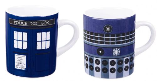 Mini Tassen Doctor Who 2er Set