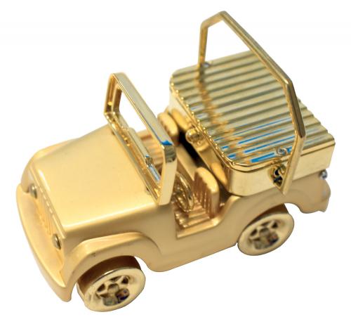 Mini-Uhr Jeep.