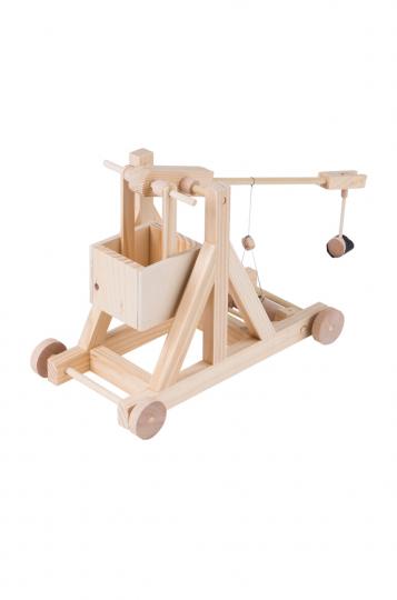Modellsatz »Mittelalterliche Steinschleuder«.