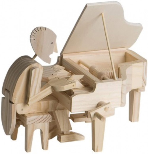 Modellsatz »Pianist«.