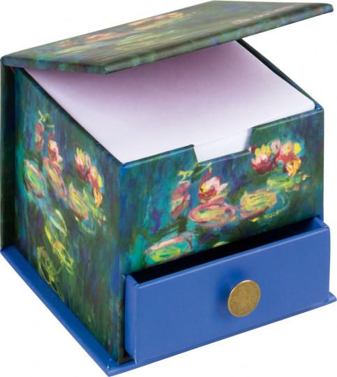 Monet Memo Cube.