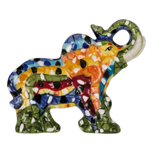 Mosaik-Magnet »Elefant«.
