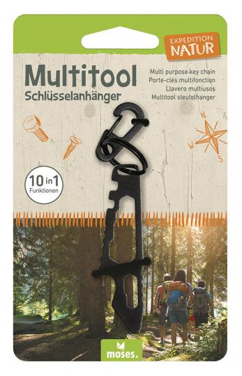 Multitool-Schlüsselanhänger.