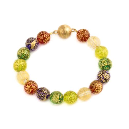 Murano-Armband »Farben des Glücks«.
