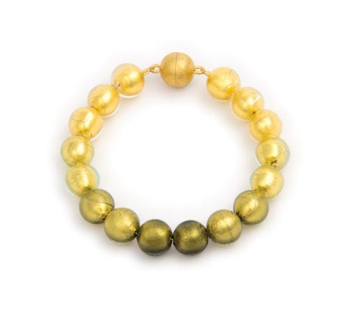 Murano-Armband »Goldhoffnung«.