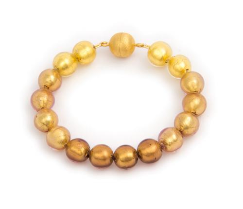 Murano-Armband »Goldtöne«.
