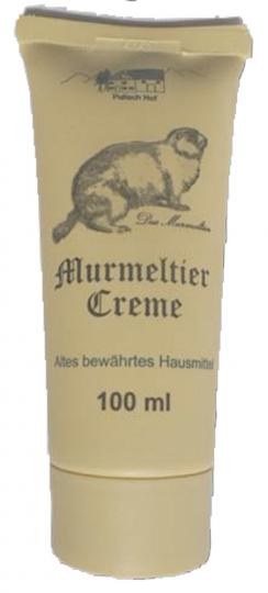 Murmeltier-Creme.