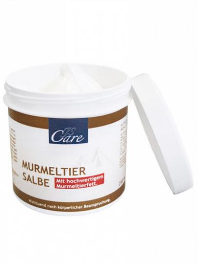 Murmeltier-Salbe.