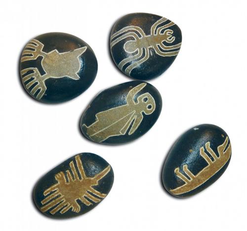 Nazca-Symbolstein Eidechse