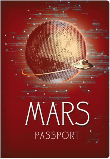 Passport-Notizbuch »Mars«.