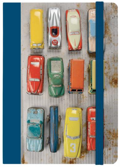 Notizbuch »Spielzeugautos«.