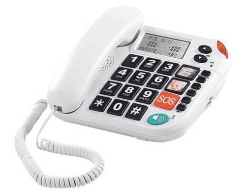 Notruf-Telefon für Senioren.