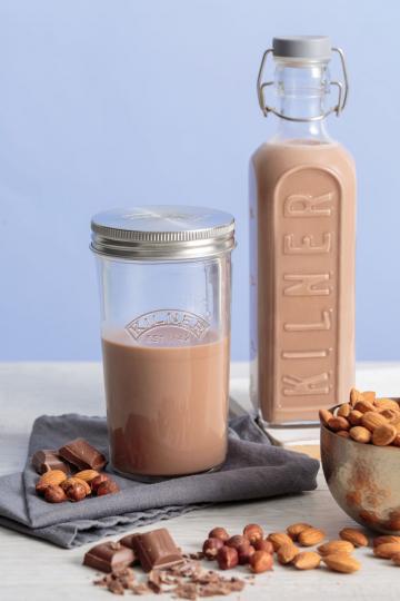 Nussmilch-Herstellungsset, 500 ml.
