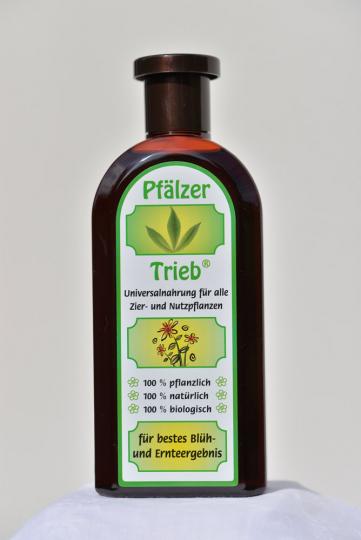 Pfälzer-Trieb. Pflanzennahrung, 500 ml.