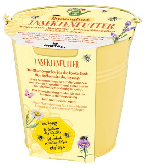 Pflanzenset »Bienenglück«.