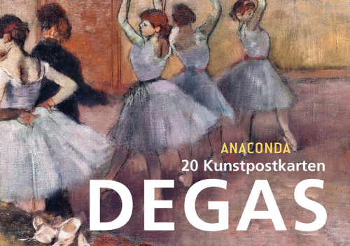 Postkartenbuch Edgar Degas.